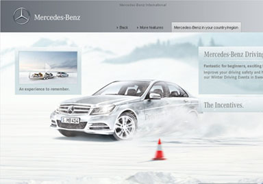 Mercedes-Benz Winter Driving Events